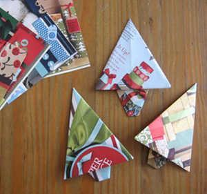 Origami pino
