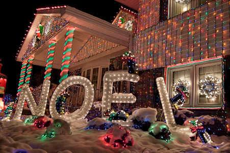 casa luces navidad