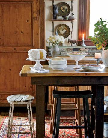 C mo elegir la mesa adecuada para la cocina cocina - Mesas cocina rusticas ...