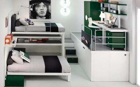 Decoraci n de dormitorios en espacios peque os for Alquiler de habitaciones para universitarios
