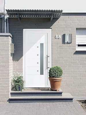 El Aluminio En Tus Puertas De Entrada Tendencias Decora Ilumina - Puertas-entrada-principal