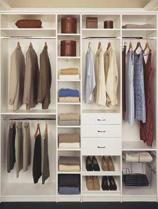 Closets con estilo para la temporada 2010 muebles for Closet grandes y baratos