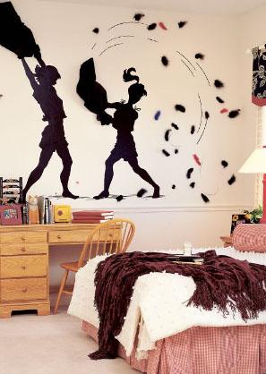 Lo ltimo en decoraci n de habitaciones juveniles for Habitacion con vinilo