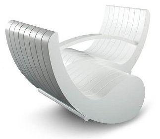 Modernas mecedoras con estilo futurista muebles decora - Mecedoras modernas ...