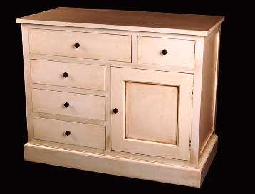 Como pintar y renovar un mueble de madera paso a paso - Muebles naturales para pintar ...