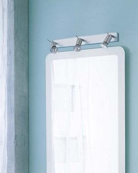 C mo iluminar la zona del espejo del ba o ba o decora for Apliques de pared bano