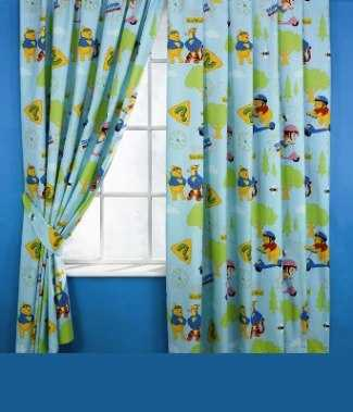 Choosing curtains for children's bedroom