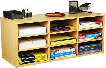 Modernos organizadores para libros y cuadernos escolares - Muebles para libros modernos ...