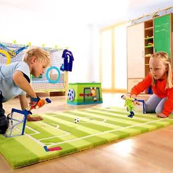 Decoraci n utilitaria alfombras did cticas para ni os - Alfombras para jugar ninos ...