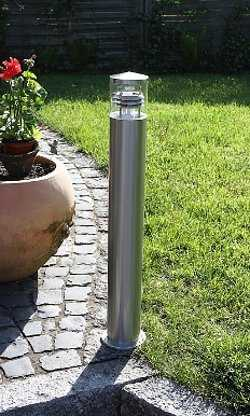 Tipos de l mparas para iluminar el jard n jardin - Lamparas exteriores para jardin ...
