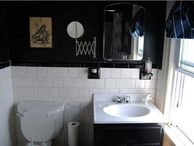 Ideas para un ba o vintage vintage decora ilumina - Pintura para azulejos del bano ...