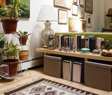 C mo usar los libros para ambientar tus espacios - Libros para decorar ...