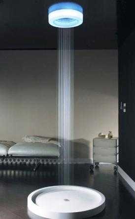 Modernas duchas con tecnolog a led iluminacion decora for Duchas modernas