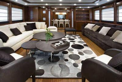 Distintos estilos para decorar una sala sala decora for Muebles oscuros paredes claras