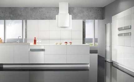 Muebles blancos para tu cocina cocina decora ilumina - Cocinas con muebles blancos ...