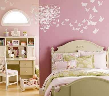 Combinando el verde y el rosa en la decoraci n de for Ver pinturas de interiores de casas
