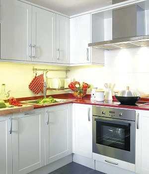 Diferentes formas de distribuir los muebles de la cocina for Como distribuir una cocina