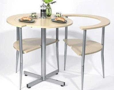 Pequeñas mesas para el desayuno | Comedor - Decora Ilumina