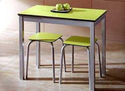 Peque as mesas para el desayuno comedor decora ilumina for Mesas de comedor pequenas