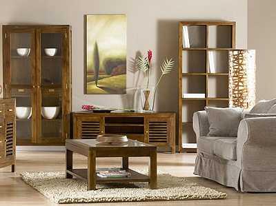 Ideas para ganar comodidad en salones y dormitorios infantiles muebles decora ilumina - Salones con muebles oscuros ...