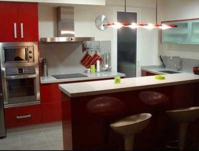 Las ventajas de las cocinas americanas o kitchenettes for Barra auxiliar para cocina