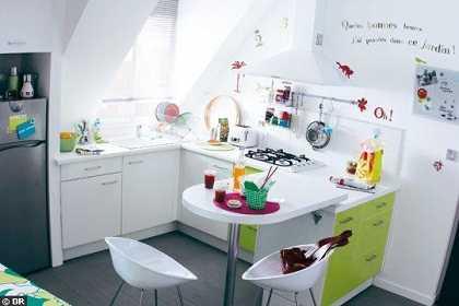 Ideas para decorar una cocina peque a cocina decora for Decorar office cocina