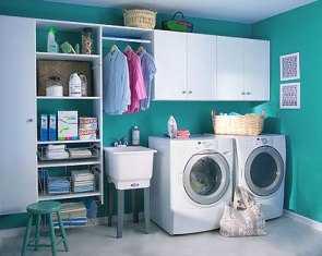 C mo organizar una lavander a en casa tip del dia for Muebles para lavanderia de casa