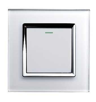 Lujosos interruptores con cristal iluminacion decora ilumina - Llaves de luz modernas ...