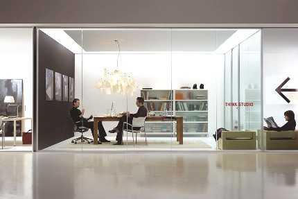 Divisores de ambientes transparentes tendencias decora for Separadores de ambientes modernos