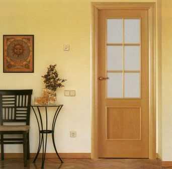 Materiales y tipos de acabados para puertas de interior - Tipos de puertas de interior ...