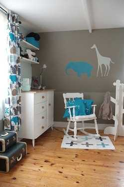 Decorando la habitaci n del beb en gris y blanco for Cuarto azul con gris