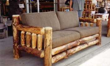 Ideas de muebles r sticos muebles decora ilumina for Como hacer una terraza rustica