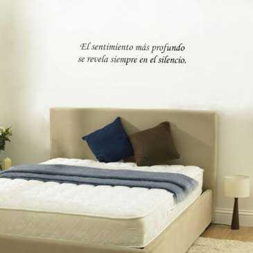 Vinilos con texto para tus paredes tendencias decora - Vinilos frases para dormitorios ...
