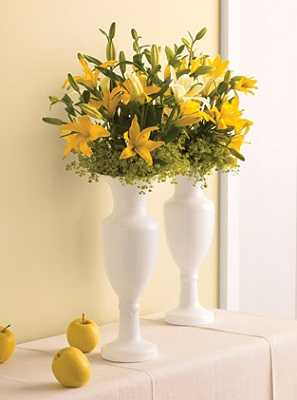 Originales ideas para decorar con flores tip del dia - Decorar jarrones altos ...