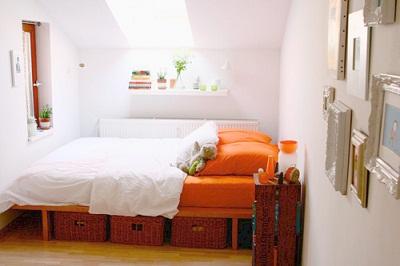 La calidez del color naranja tip del dia decora ilumina for Paredes naranja y beige