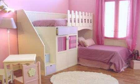 Dormitorios de cuento infantil decora ilumina - Habitacion nino 2 anos ...
