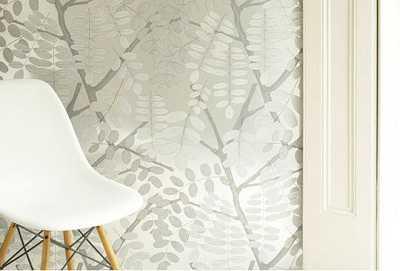 Papeles pintados en tonos grises tendencias decora ilumina for Tonos de grises para pintar paredes