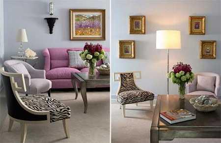 Tendencias en cuadros y cortinas para renovar la - Que cuadros poner en el salon ...
