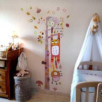 Vinilos educativos para habitaciones infantiles infantil for Vinilos habitacion infantil nina