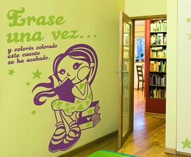 Vinilos educativos para habitaciones infantiles infantil for Frases para cuartos de ninas
