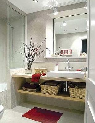 Consejos para aumentar el espacio de tu casa con una - Iluminacion cuarto de bano ...