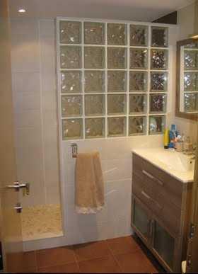 Ladrillos de vidrio o cristal de pav s para ganar - Cuartos de bano con paves ...