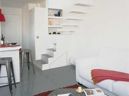 Un apartamento mini de 30 metros cuadrados tendencias for Como decorar un monoambiente de 30 metros cuadrados