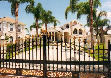 Rejas para jardines exteriores