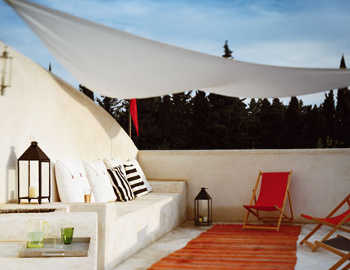 Modelos de toldos para decorar la terraza terraza - Cubrir terraza barato ...