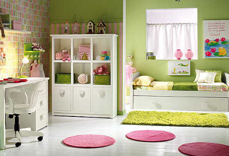 Muebles para la habitaci n de las ni as infantil - Muebles para cuarto de nina ...