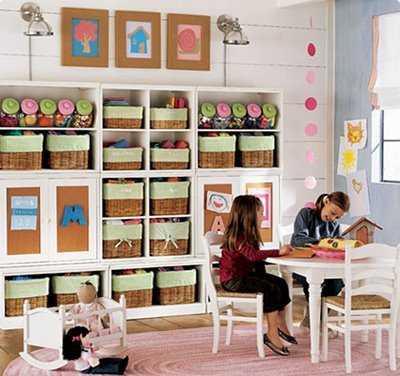 Ideas para construir el cuarto de juego de los ni os infantil decora ilumina - Decorar habitacion juegos para ninos ...