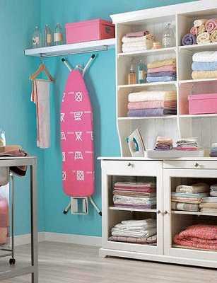 Consejos para crear una zona de planchado tip del dia for Cesto ropa plancha