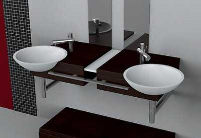 lavabos zen madera