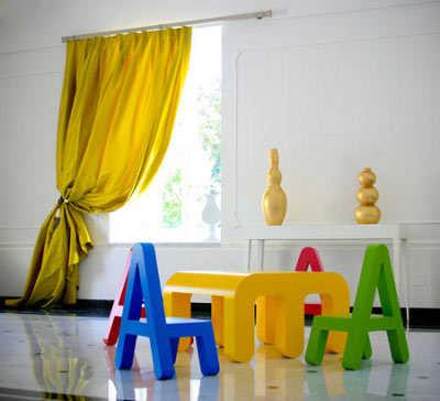 Curiosos muebles para ni os infantil decora ilumina for Pegatinas infantiles para muebles